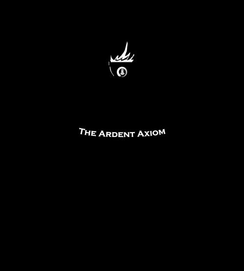 AA Black Transparent Text Square - Illuminating